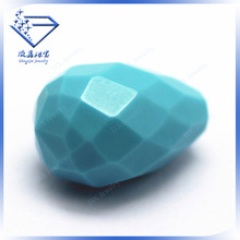 Pearl cut Synthetic Turquoise