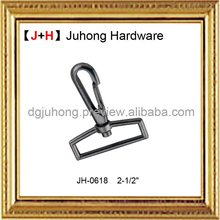 swivel dog hook,metal snap hook, metal bag fittings for leather handbag