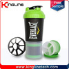 600ml plastic smart shaker with netting and container BPA Free (KL-7030)