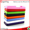 For iphone 5s case new power bank 2200mah for iphone 5 fast charging power bank