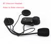 Cheap LCD Screen Motorcycle Helmet Bluetooth Intercom With FM Radio Motor Talkie Headset