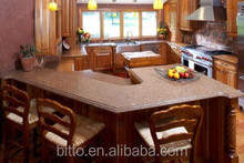 Table tops, kitchen tops made of Bitto solid surface
