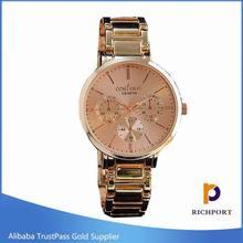 2015 HOT selling ellegent Women Quartz Stainless Steel Watch