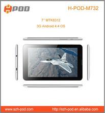 7 inch android mtk8312 google free app download dual sim watch phone dvb-t wifi gps