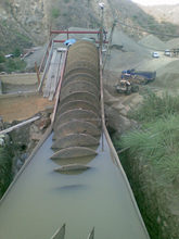 energy saving copper ore concentrate,spiral separator for tin,iron,tungsten,manganese