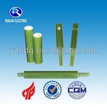 Résine époxy en fiber de verre haute résistance à la température tige d'isolation
