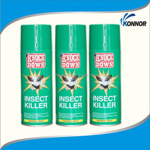 Sales spray insecticide tetramethrin alcohol based insecticide aerosol spray insecticide