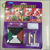 Custom factory supplier 4 Colors Face & Body Painting Crayon in Blister Card
