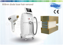 Hot sale 808nm 10w laser diode in-motion freezing painless hair removal machine