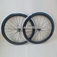 14.04141 700CX25 60mm aluminum braking surface carbon wheels for road bike wheel