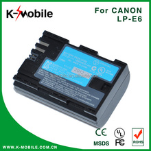 Low Price For canon 7d digital camera lp-e6 battery pack