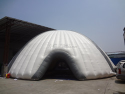 Guangzhou professional supply giant inflatable tent, giant inflatable dome tent