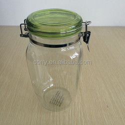 plastic airtight canister Candy jar with lock