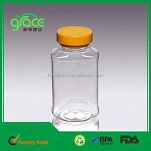 420mlขวดน้ำผลไม้สัตว์เลี้ยงพลาสติก