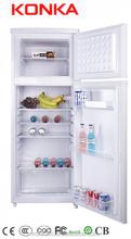 BCD-220 top freezer combi fridge double door refrigerator/fridge CE Rohs R134a/R600a