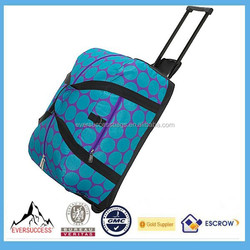 Kids Travel Bags Rolling Duffel Bag Trolley Bag Polyester