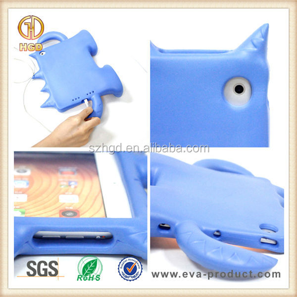 for ipad mini case kids, Anti Shock EVA heavy duty case for tablet