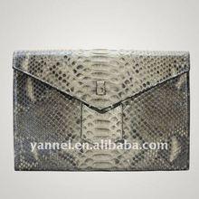 python lady clutch bag_snake leather bag_leather handbag