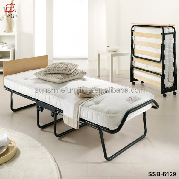 Cheap Hotel Home Furniture Wooden Slat Rollaway Bed Buy