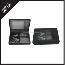Black Cardboard Boxes With Compartment