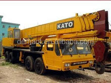 used Japan Kato 55t truck crane,truck crane with strong power, cheap crane in shanghai,welcome to check