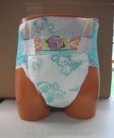 Ultra thick adult baby print diaper, disposable adult plastic pants, ABDL