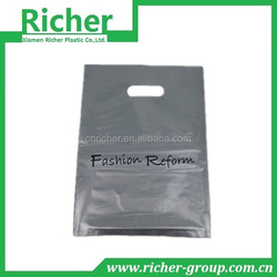 printed die cut handle shopping bags for wholesale