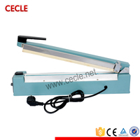 Semi automatic new hand impulse sealer heat seal machine poly sealing