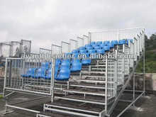 New design Metal Structural Grandstand with Pour Mold seats for sports event