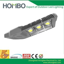 zhongshan factory die casting ce rohs cqc 120w cob led street lights price with ul driver 5 years warranty(hb-078)