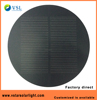 factory direct price 5.5V 1W round shape frosted PET solar panel with FCC CE RoHS