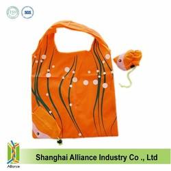 cheap nylon foldable shopping bag foldable tote bag