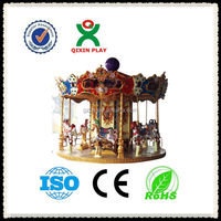 double decker carousel outdoor for 48 people