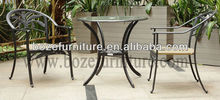Patio Cast Aluminum Table And Chair/ HD Desighs Outdoor Furniture