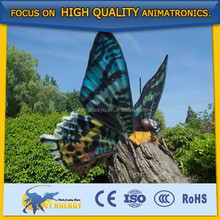 Giant Analogical Insect Model Robotic Butterfly on a tree for Decoration/Show
