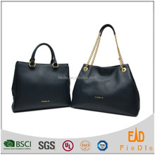 CSS1372&CSS1346 New Fashion 2016 Casual Women leather Bag two Piece custom genuine women leather bag set fashion women bags