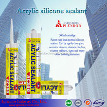 acetic cure silicone sealant/ coloured silicone sealant