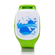 2015 Children Smart watch phone kids tracking GPS watch kids with remote voice monitoring
