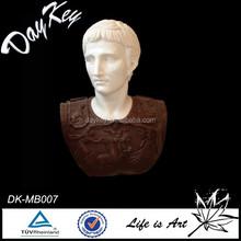 Main marbre sculpté homme buste statue
