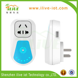 2015 Best Quality Super Function USB Port Socket for Smart House with App Remote Control