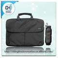 diseño personalizado negro del ordenador portátil barato al por mayor bolsas hechas de nylon de la fábrica de dongguan