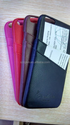 good quality Microfiber pu leather cell phone case wholesale for iphone6
