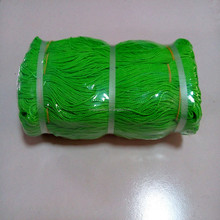 380D/30ply green blue red fishing twine in hanks/pe rope