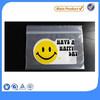 Happy Smile Logo Print Freshness Keeping Ziplock Plastic Bag