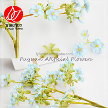 150647 home doecor winter plum flowers cheap wholesale wintersweet tiffany blue silk flowers
