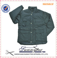 SUNNYTEX 2014 Multi-pockets Sleeves Removable Custom Varsity Jacket Wholesale