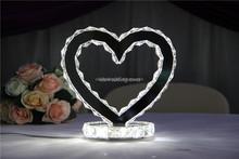 acrylic centerpieces kryptonite/heart shape acrylic wedding centerpiece/crystal chandelier wedding cake stand wholesale
