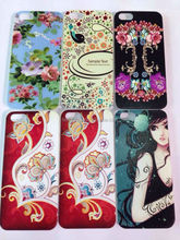 DIY Christmas Design Gift Back Picture Phone Case Cover For iPhone 5 5S 5G Printed by UV LED INK