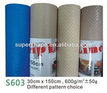 Eco-friendly PVC shelf grip liner in rolls or pieces