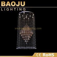 Decorating Ideas For Living Rooms crystal led ring lamps in Zhongshan